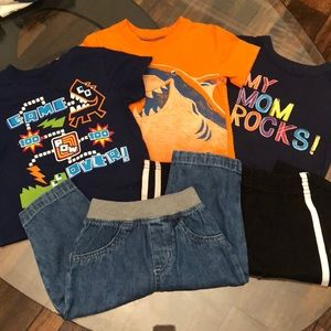 5 Piece 12 Month Boys Bundle